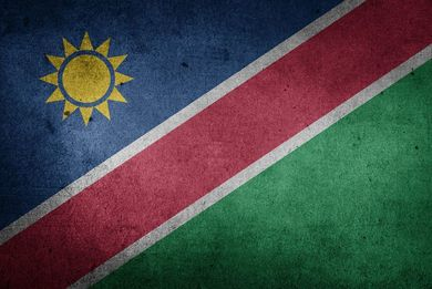 Flagge Namibia