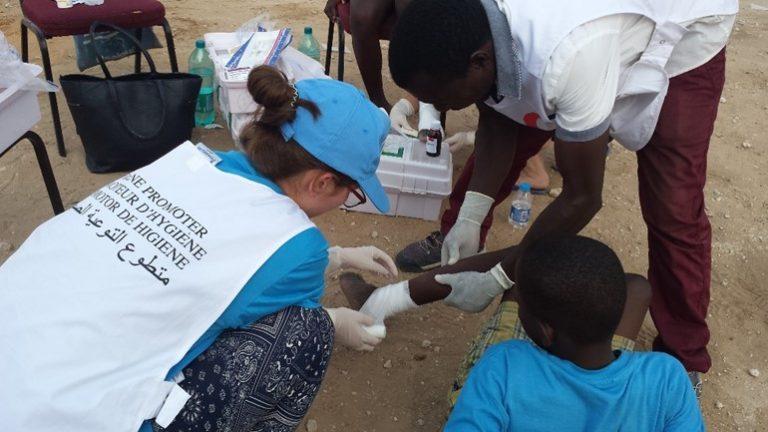 Verbreite Erste-Hilfe-Wissen und gib Menschen Hilfe zur Selbsthilfe.